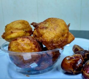 Dates Fry or Dates Fritters